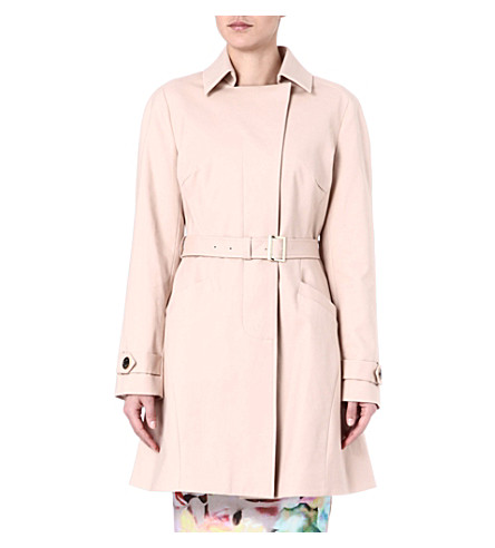 TED BAKER Meeliye panelled trench coat (Mink