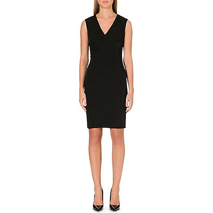 TED BAKER Egland crepe dress (Black