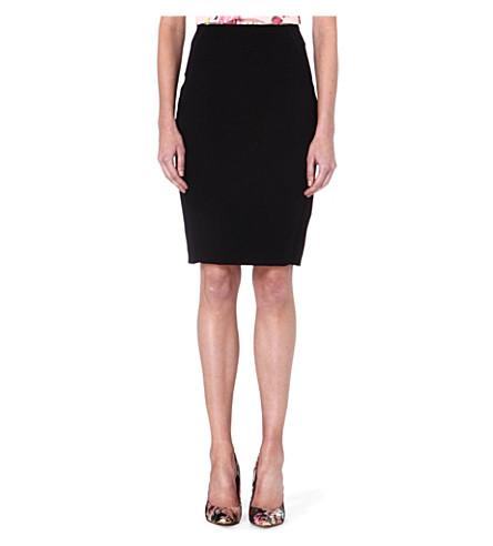 TED BAKER Eglans pencil skirt (Black