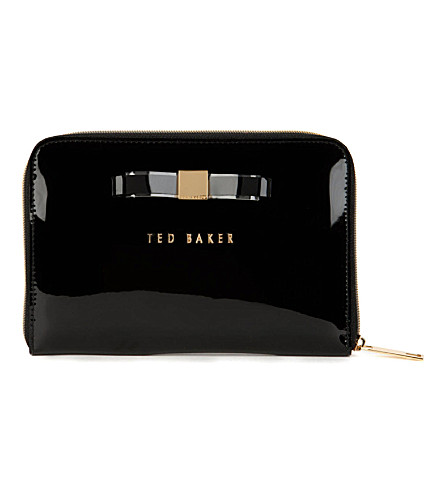 TED BAKER Menicon bow mini iPad case (Black