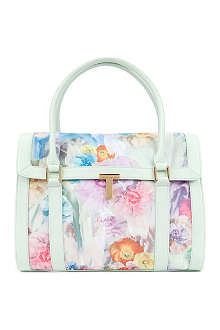 TED BAKER Tahara sugar sweetpea tote bag