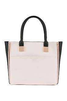 TED BAKER Leyah cross-hatch shopper bag