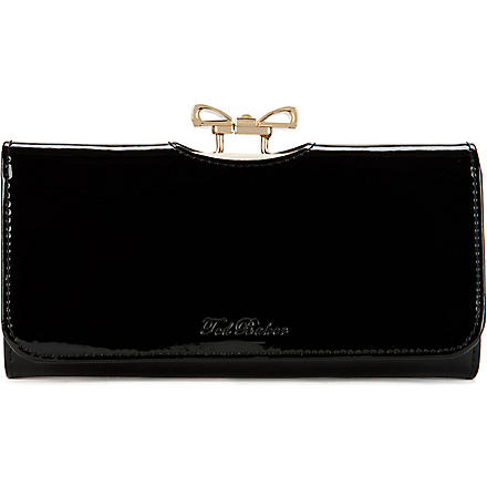 TED BAKER Lindar Crystal Bow Matinee purse (Black