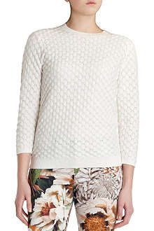 TED BAKER Bobble stitch sweater