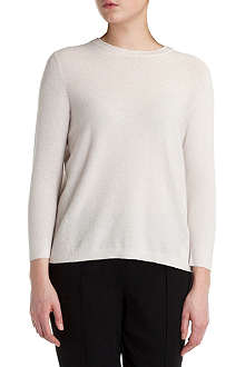 TED BAKER Metallic knitted jumper