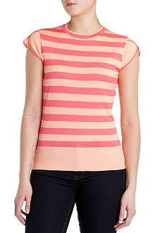 TED BAKER Taiba striped knitted top