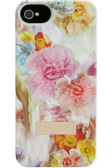 TED BAKER Grace floral printed iPhone 5 case