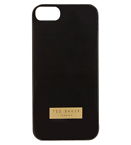 TED BAKER Jemina rubber iPhone 5 case (Black