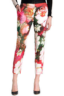 TED BAKER Tina rose printed trousers