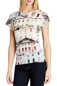 TED BAKER Keepa regency houses printed top