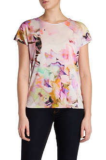 TED BAKER Misfiss floral-print top