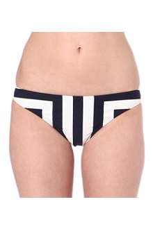 TED BAKER Nettl striped bikini bottoms