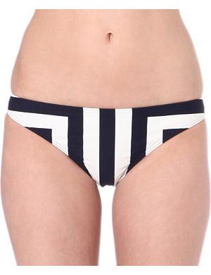 TED BAKER Nettl striped bikini bottoms