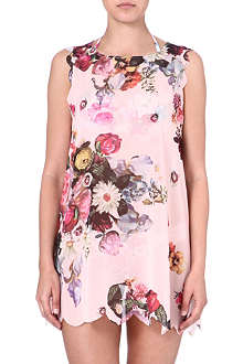 TED BAKER Sweetea oil painting floral printed cover up