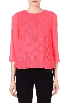 TED BAKER Gyda pleated top