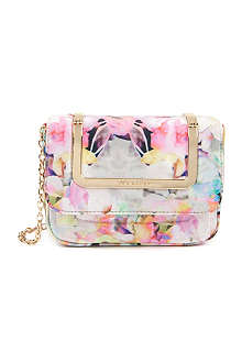 TED BAKER Electra printed clutch bag