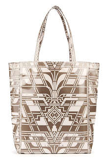 TED BAKER Art Deco large shopper bag