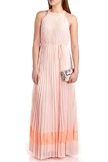TED BAKER Marryy lace-panel maxi dress