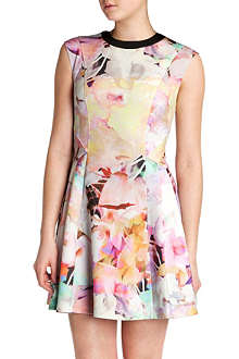 TED BAKER Jeneyy floral-print dress