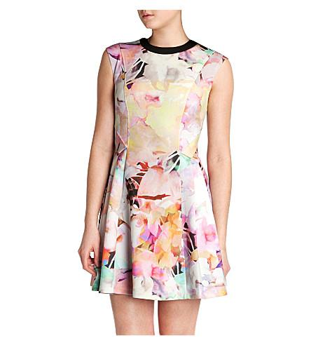 TED BAKER Jeneyy electric day dream dress (Lemon