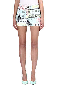 TED BAKER Lelah regency houses printed shorts