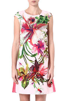 TED BAKER Romonda print tunic dress
