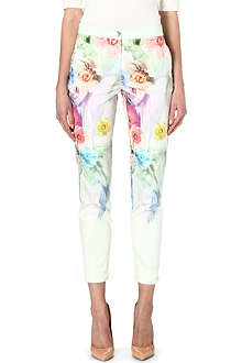 TED BAKER Avalyn sugar sweet floral trousers