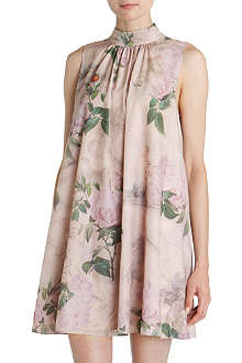 TED BAKER Dyanne floral-print dress