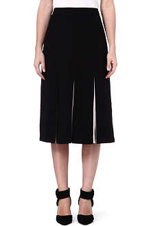 TED BAKER Celete pleated midi skirt
