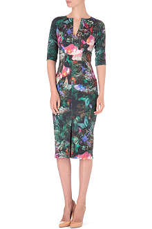 TED BAKER Printed jersey dress