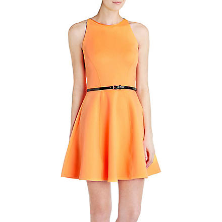 TED BAKER Full-skirted dress (Tangerine