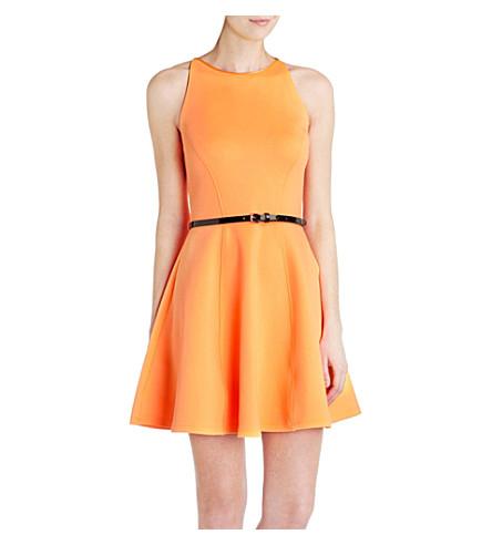 TED BAKER Full-skirted dress (Tangerine