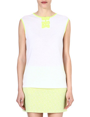 TED BAKER Bow detail top
