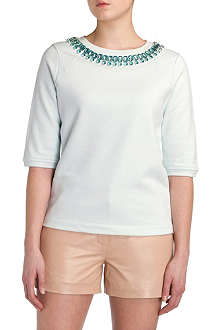 TED BAKER Emmlee embellished sweater