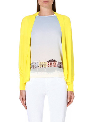 TED BAKER Knitted open-front cardigan