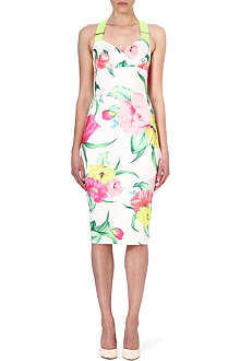TED BAKER Floral-print jersey dress