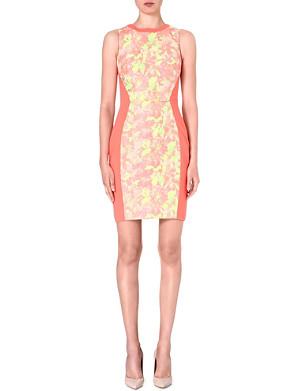 TED BAKER Sleeveless jacquard dress