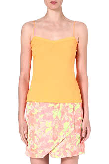 TED BAKER Tissa scallop-edged camisole