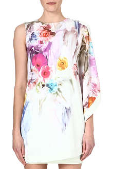 TED BAKER Dahnni floral printed dress