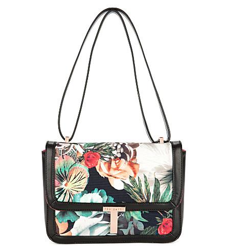 TED BAKER Leyda tangled floral print bag (Ivory