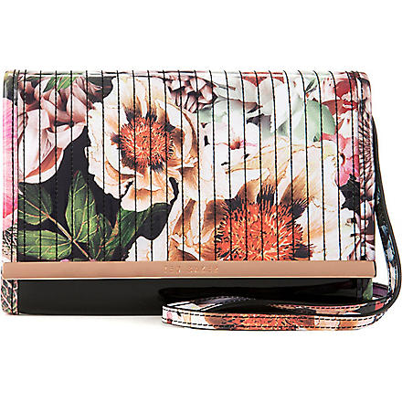 TED BAKER Floral mini iPad case (Ivory