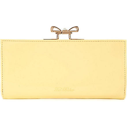 TED BAKER Pezie bow matinee purse (Lemon