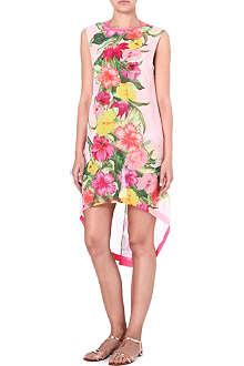 TED BAKER Floral-print chiffon dress