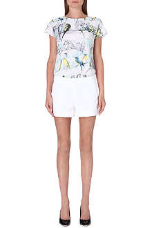 TED BAKER Canary print playsuit