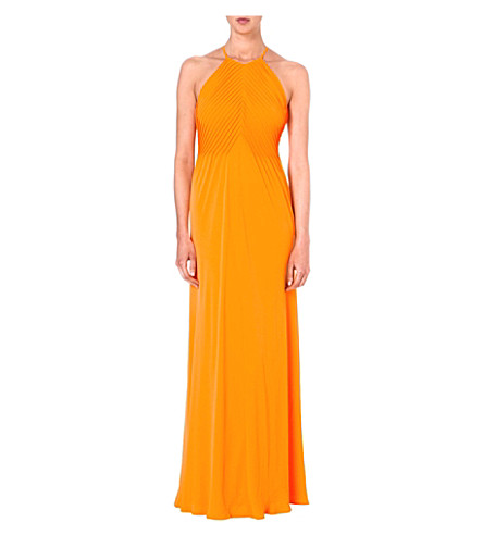 TED BAKER Corkia maxi dress (Tangerine