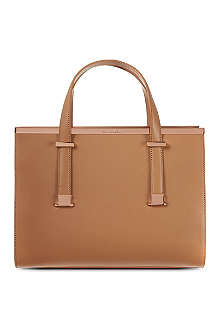 TED BAKER Metallic bar tote bag