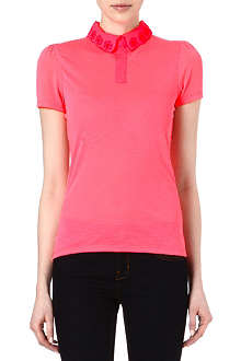 TED BAKER Divah cut out collar top