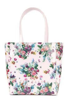 TED BAKER Marano floral shopper bag with matching umbrella