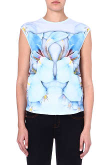 TED BAKER Natural kingdom printed top