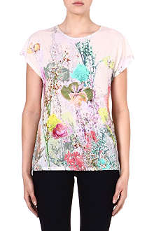 TED BAKER Guara wispy meadow print top